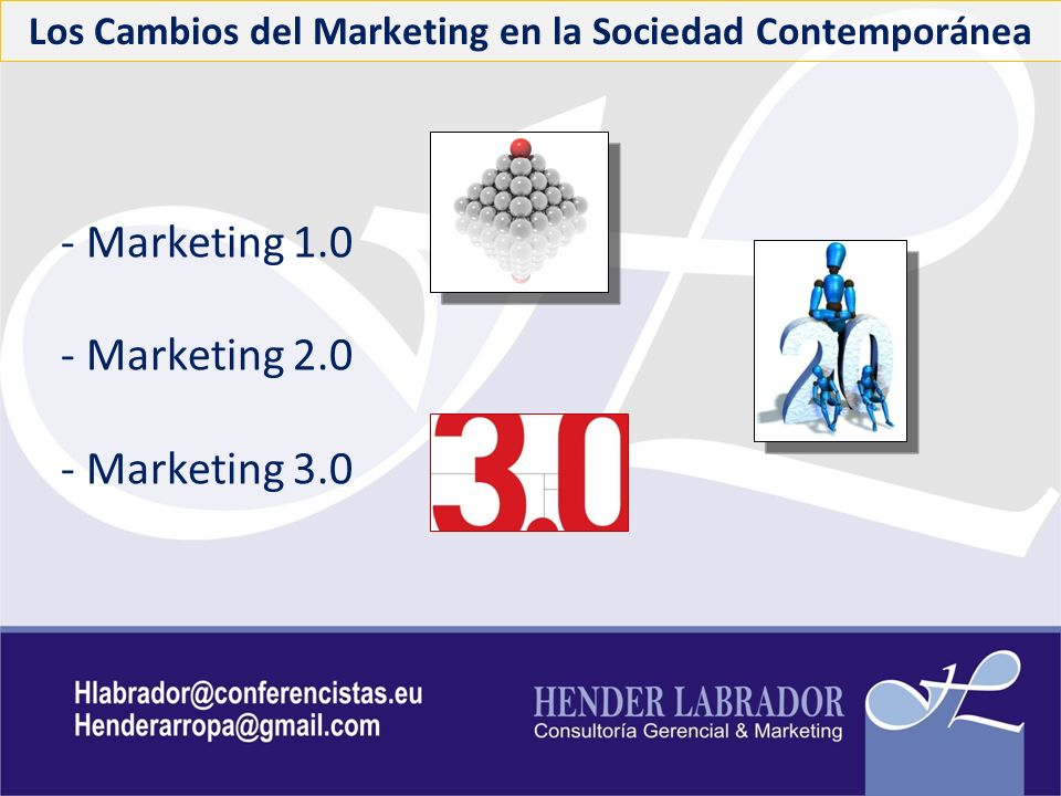 Los Cambios del Marketing en la Sociedad Contemporánea