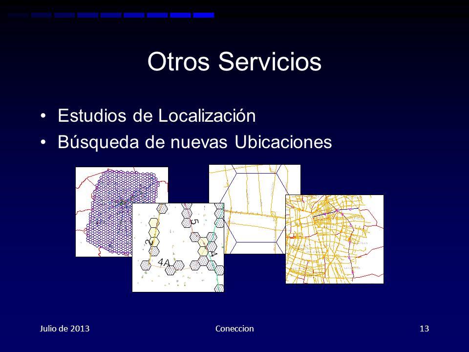 Otros Servicios Estudios de Localización