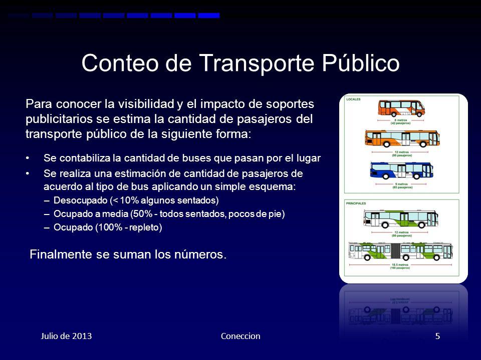 Conteo de Transporte Público