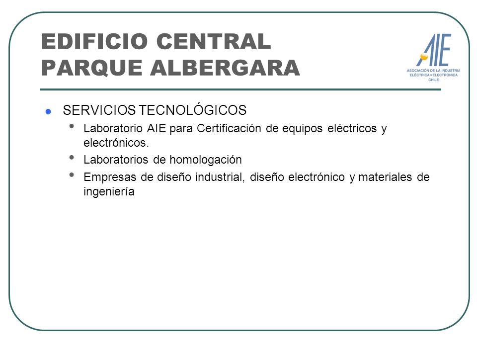 EDIFICIO CENTRAL PARQUE ALBERGARA