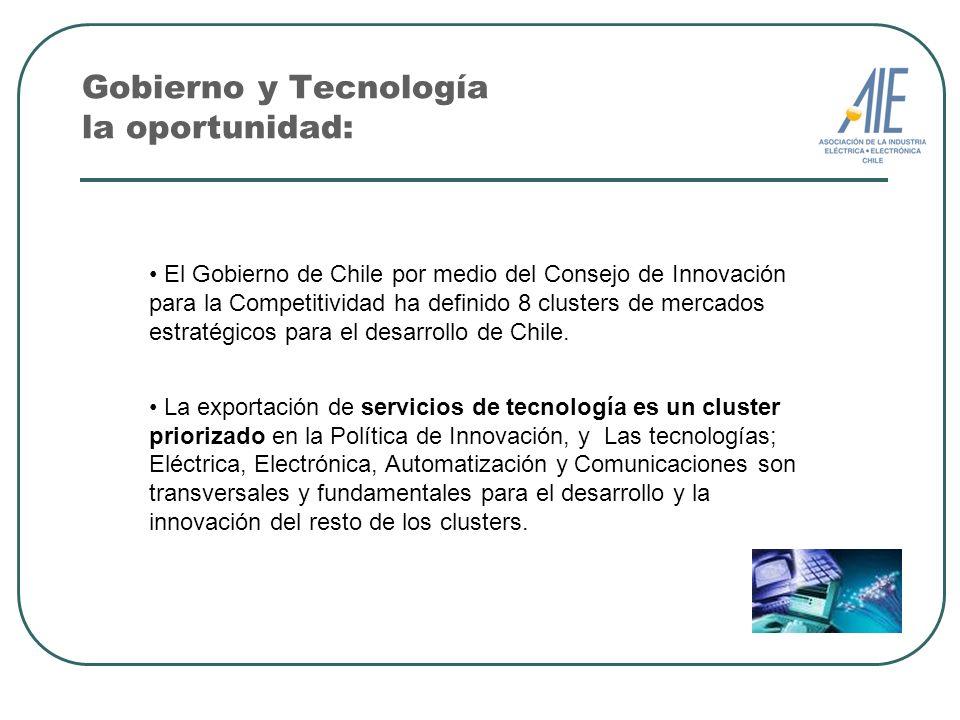 Gobierno y Tecnología la oportunidad: