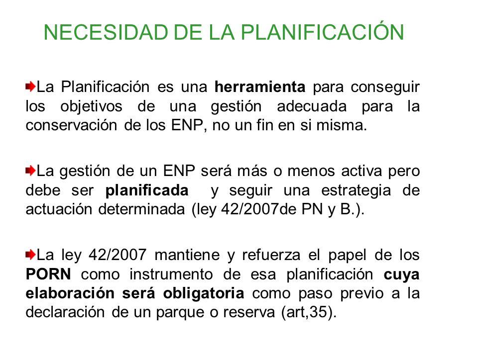 NECESIDAD DE LA PLANIFICACIÓN