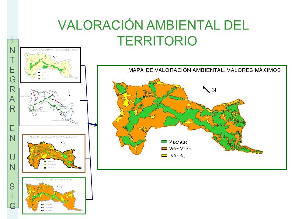 VALORACIÓN AMBIENTAL DEL TERRITORIO
