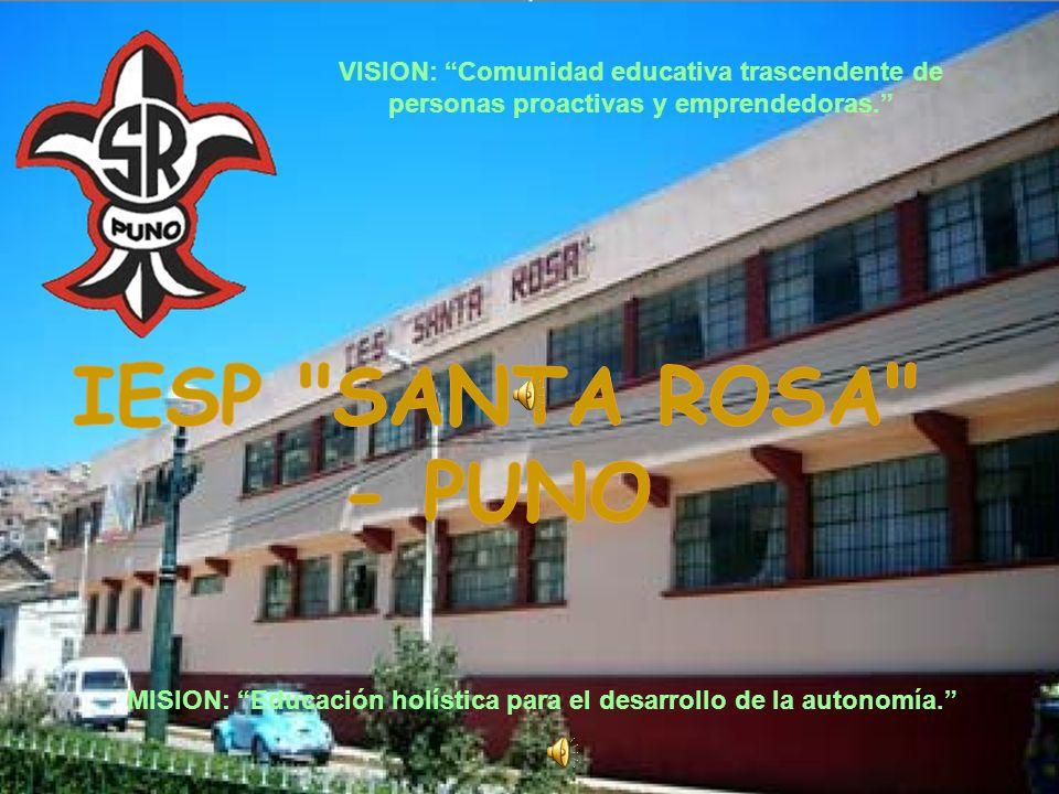 MISION: Educación holística para el desarrollo de la autonomía.