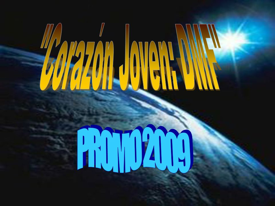 Corazón Joven: DMF PROMO 2009