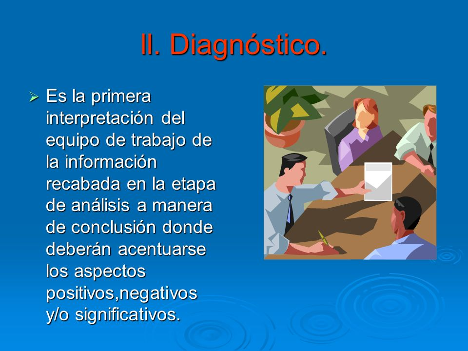 ll. Diagnóstico.