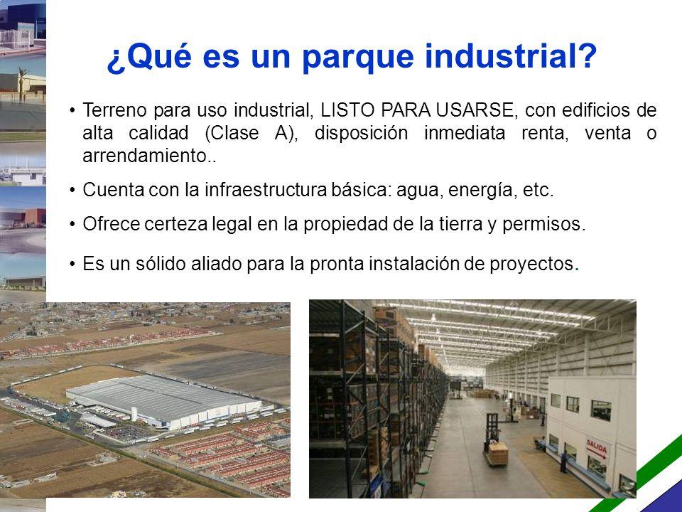 ¿Qué es un parque industrial