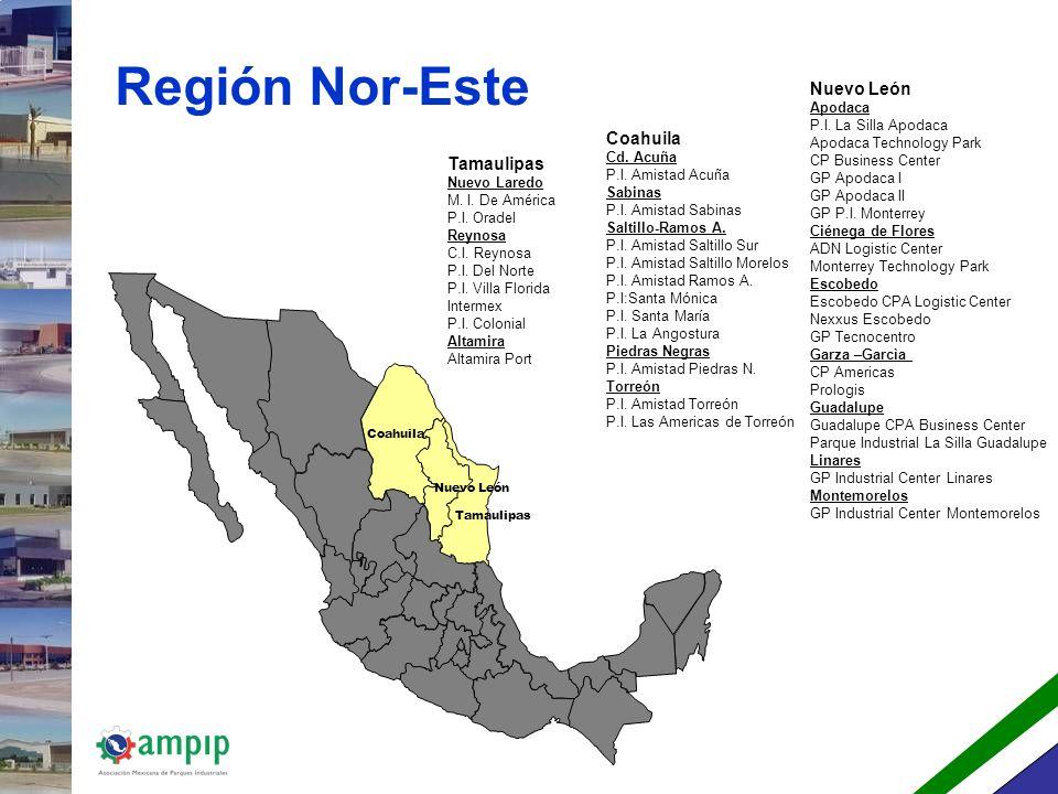 Región Nor-Este Nuevo León Coahuila Tamaulipas Apodaca