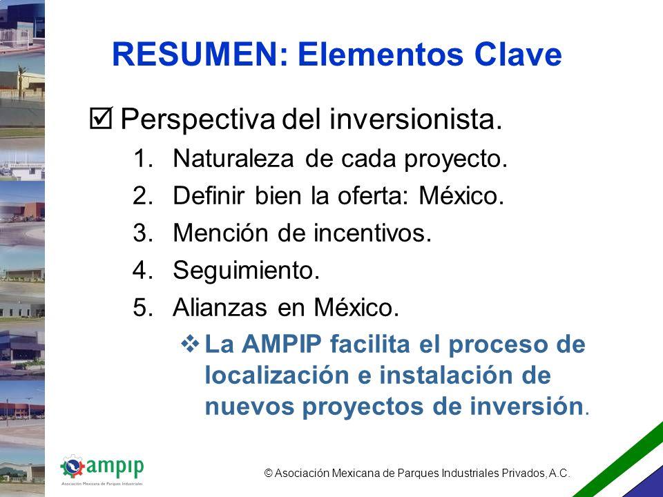 RESUMEN: Elementos Clave