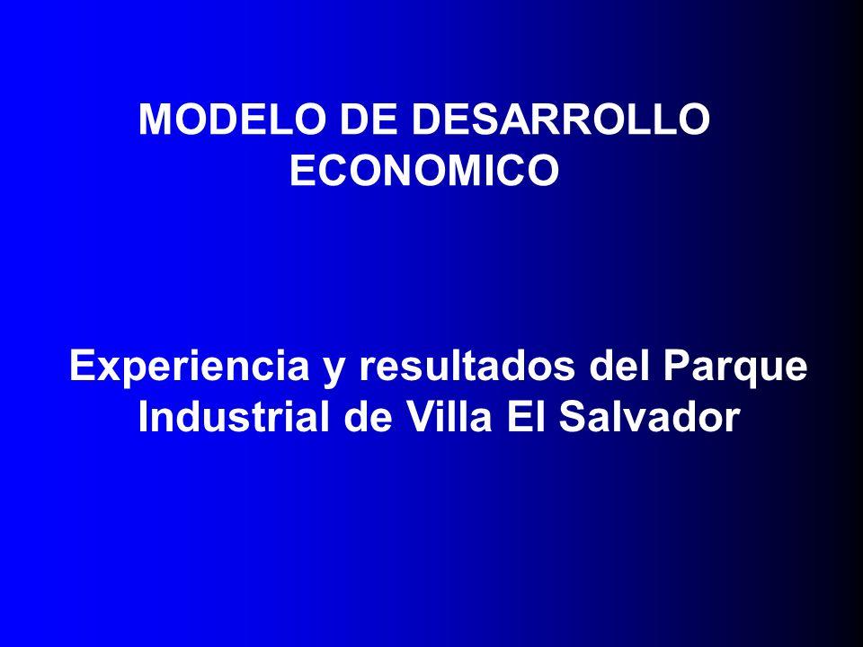 MODELO DE DESARROLLO ECONOMICO