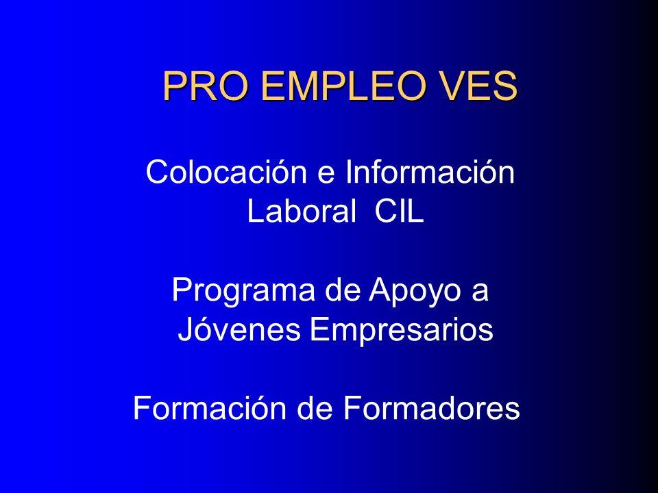 PRO EMPLEO VES Colocación e Información Laboral CIL