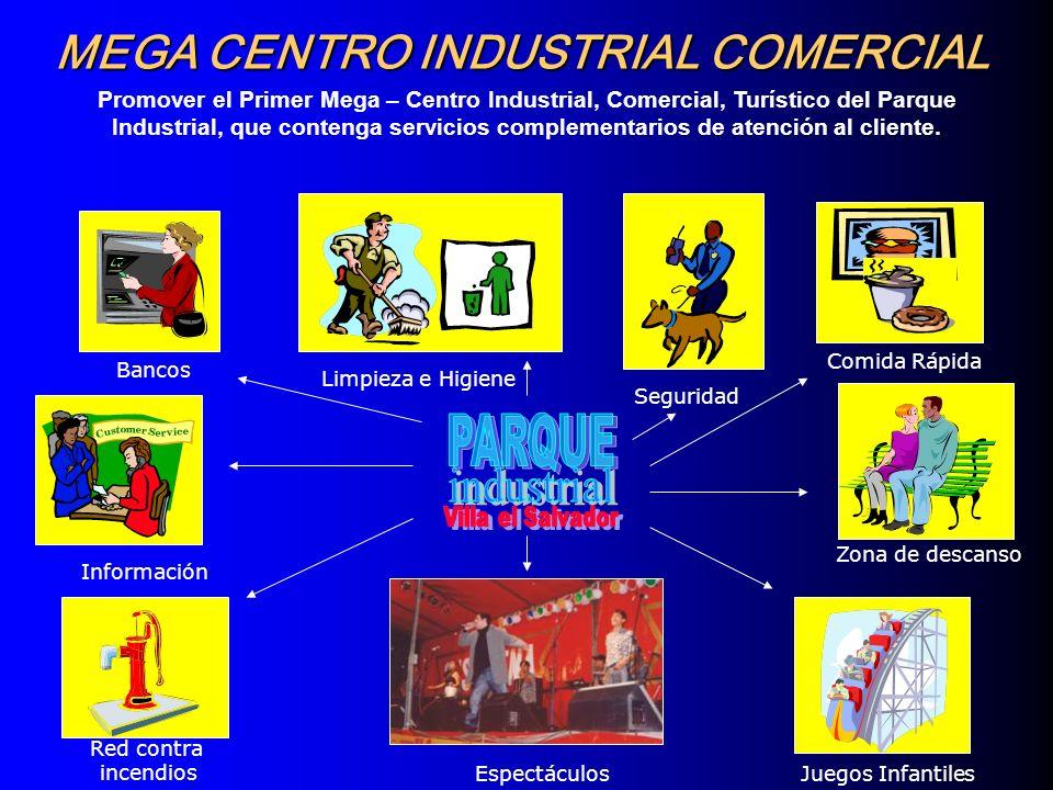 PARQUE MEGA CENTRO INDUSTRIAL COMERCIAL industrial