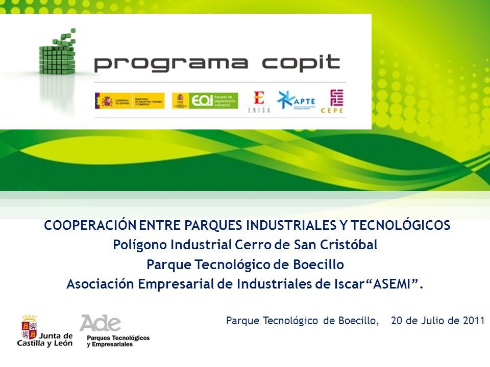 COOPERACIÓN ENTRE PARQUES INDUSTRIALES Y TECNOLÓGICOS