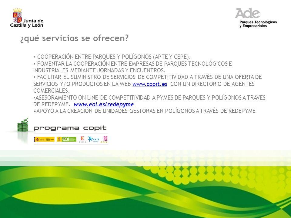 ¿qué servicios se ofrecen