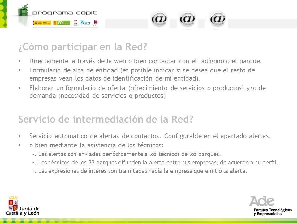¿Cómo participar en la Red