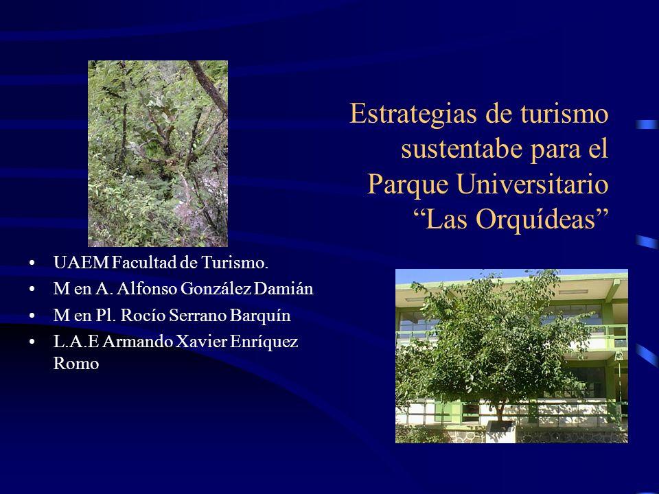 Estrategias de turismo sustentabe para el Parque Universitario Las Orquídeas