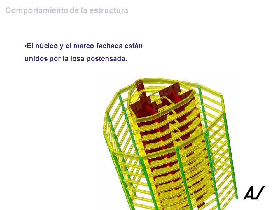 Comportamiento de la estructura