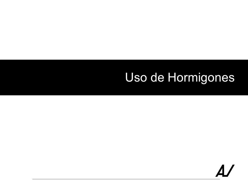 Uso de Hormigones
