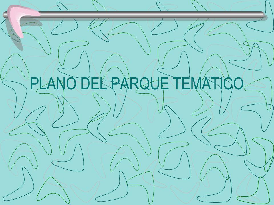 PLANO DEL PARQUE TEMATICO