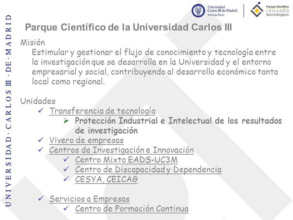Parque Científico de la Universidad Carlos III
