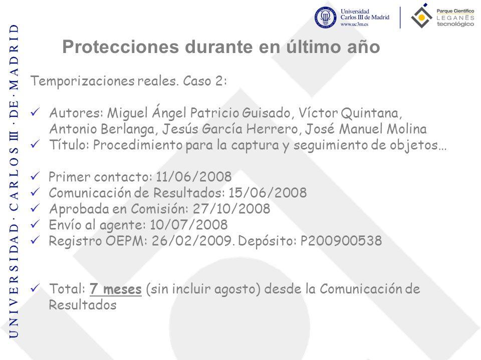 Protecciones durante en último año