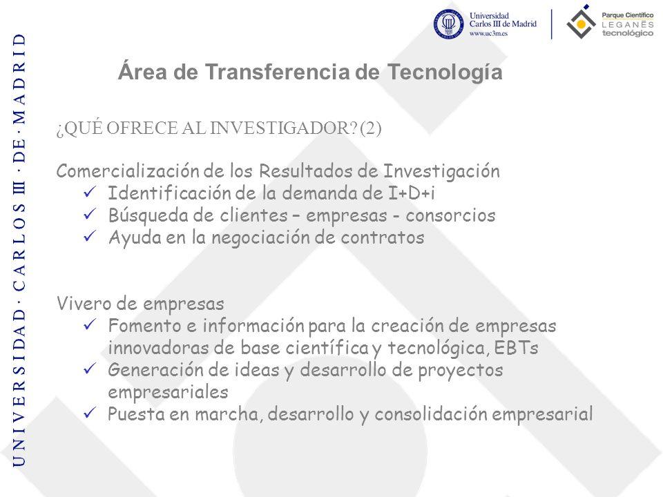 Área de Transferencia de Tecnología