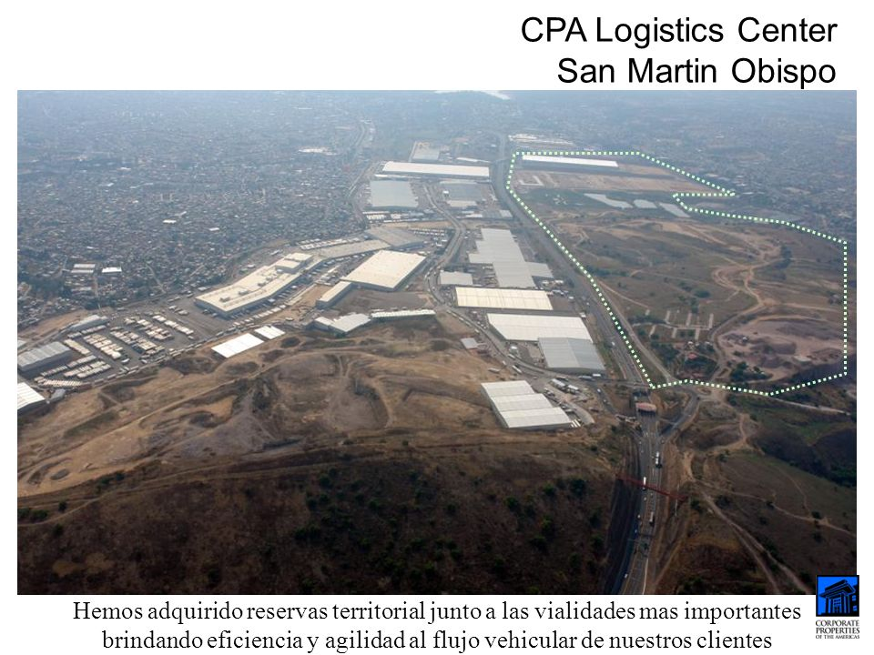 CPA Logistics Center San Martin Obispo
