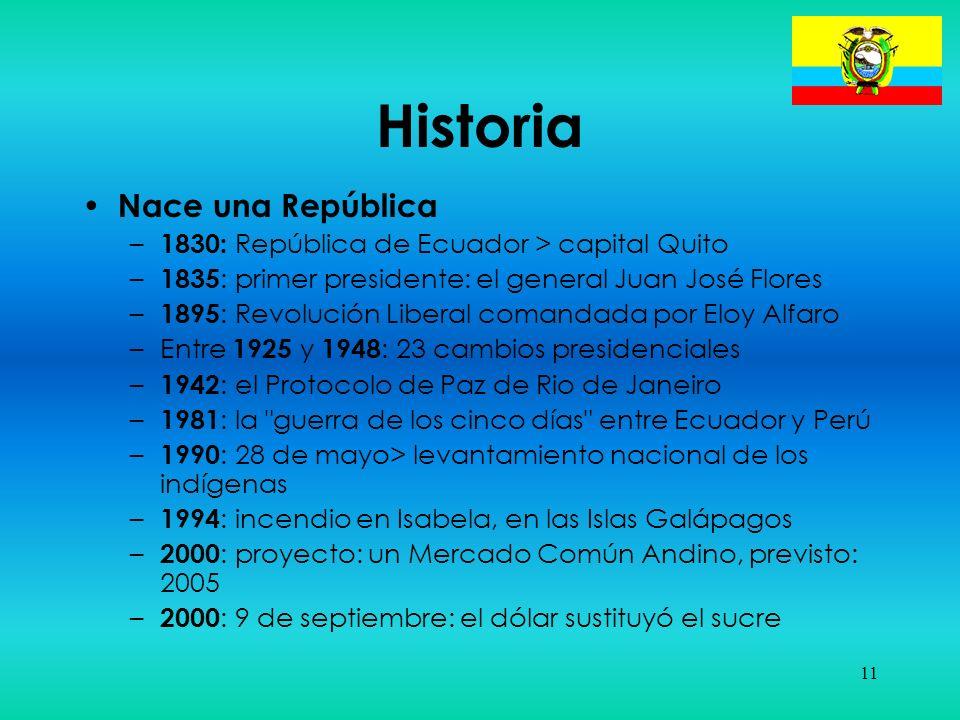Historia Nace una República