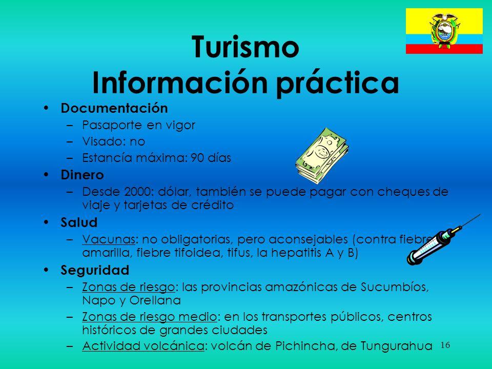 Turismo Información práctica