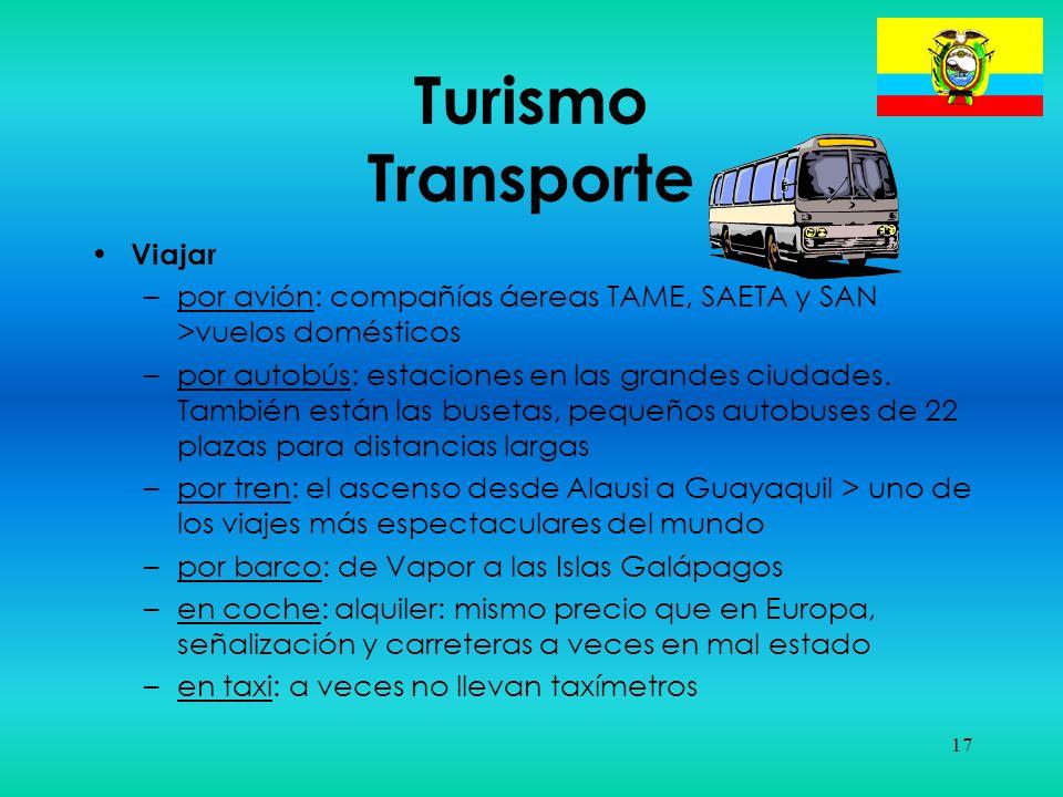 Turismo Transporte Viajar