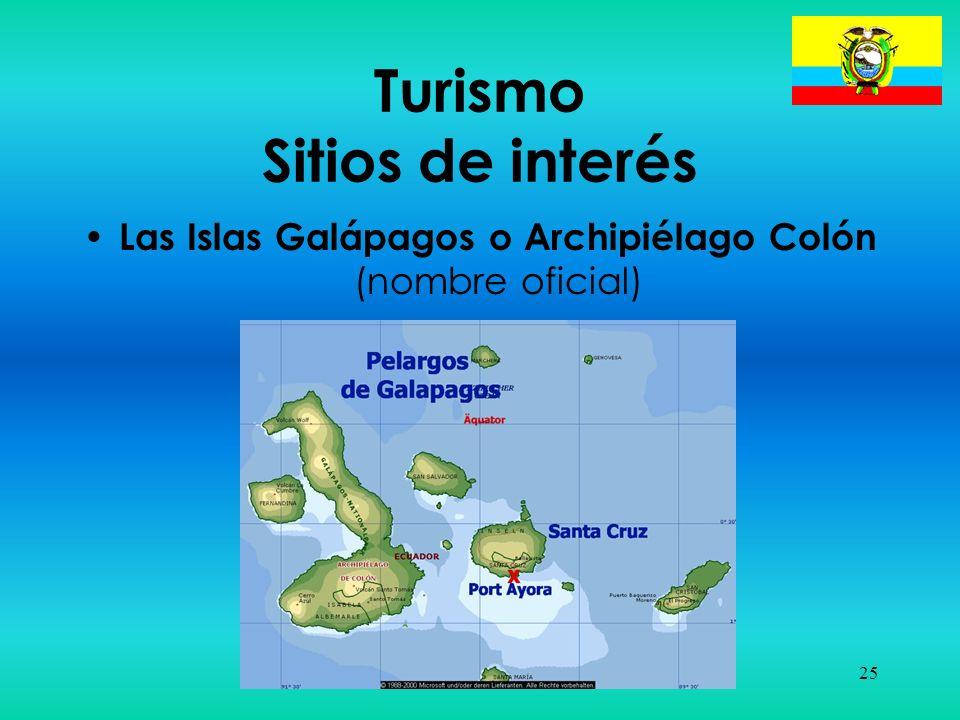 Turismo Sitios de interés