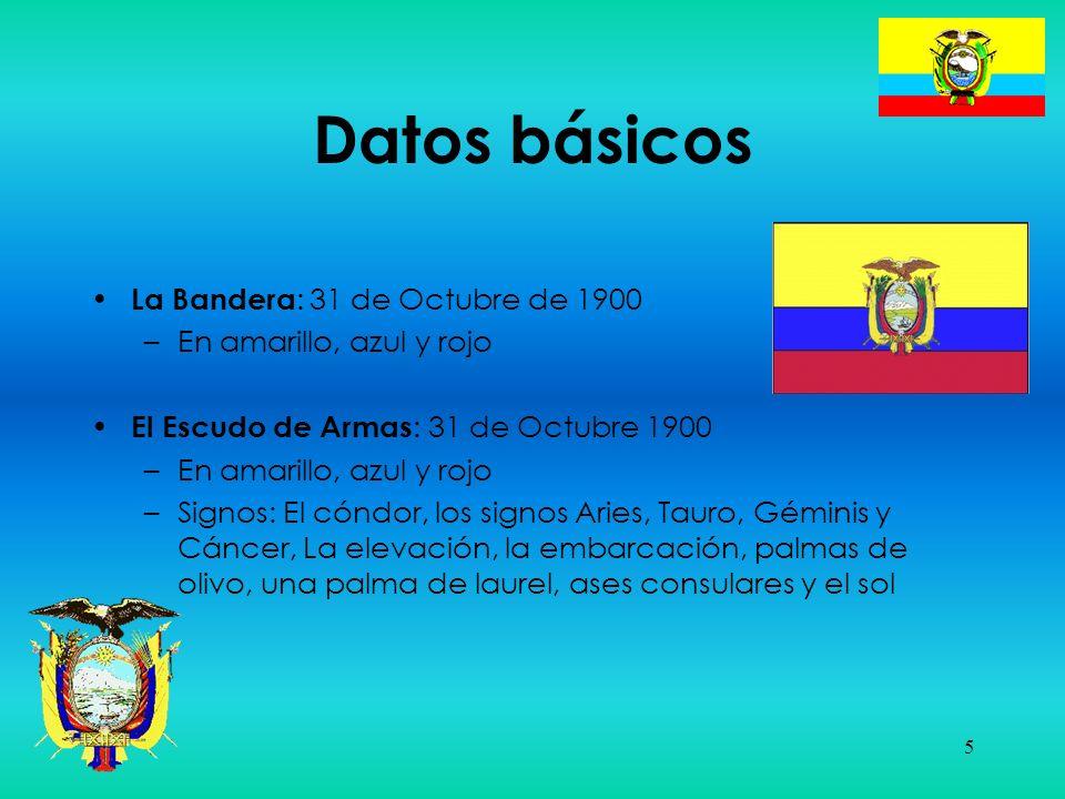 Datos básicos La Bandera: 31 de Octubre de 1900