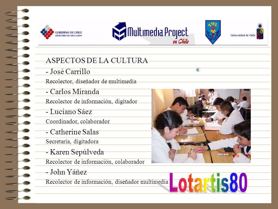 Lotartis80 ASPECTOS DE LA CULTURA - José Carrillo - Carlos Miranda