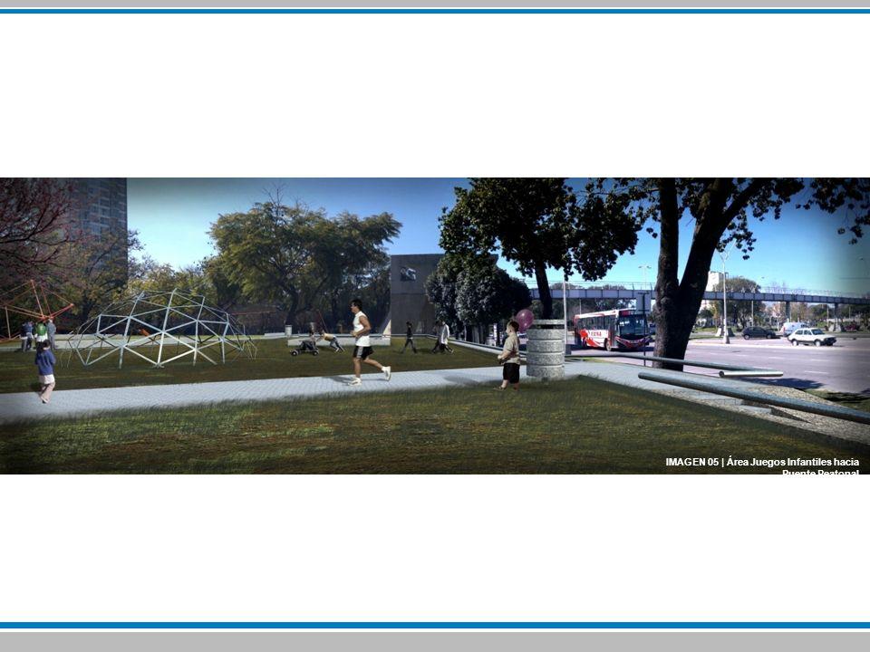 IMAGEN 05 | Área Juegos Infantiles hacia Puente Peatonal