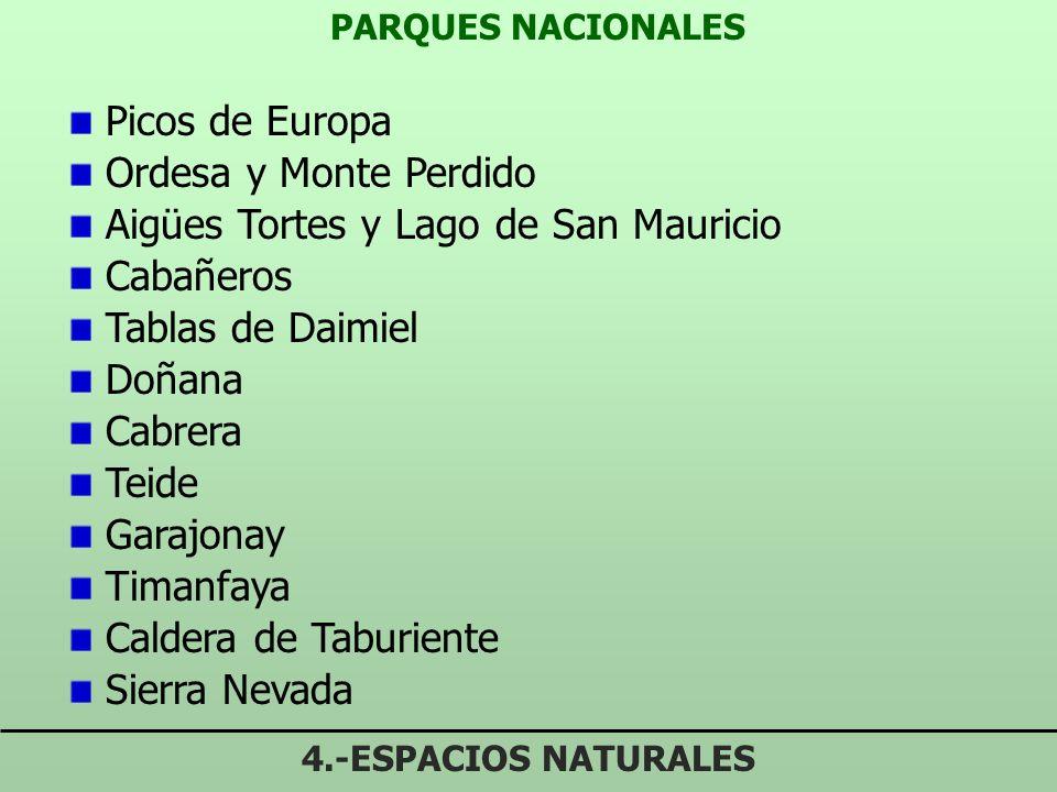 Aigües Tortes y Lago de San Mauricio Cabañeros Tablas de Daimiel