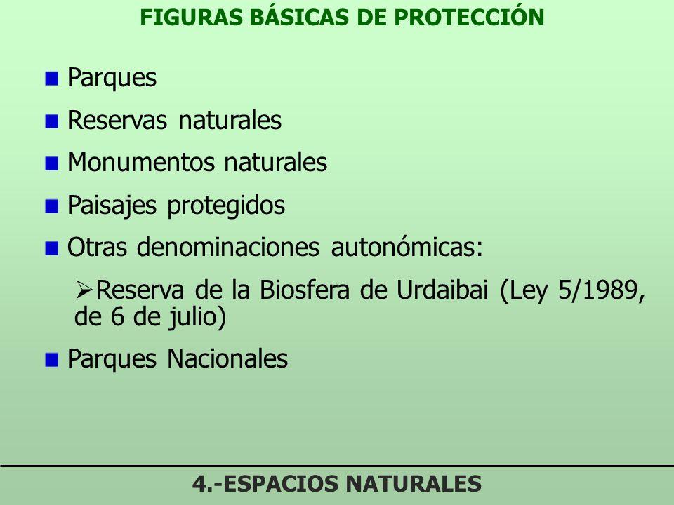 FIGURAS BÁSICAS DE PROTECCIÓN