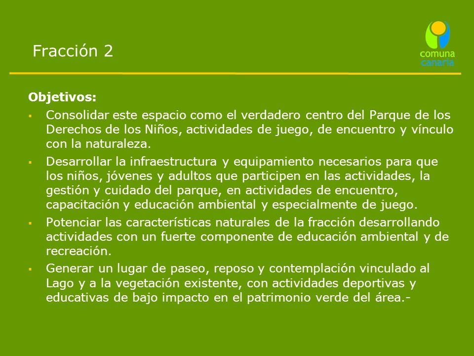 Fracción 2 Objetivos: