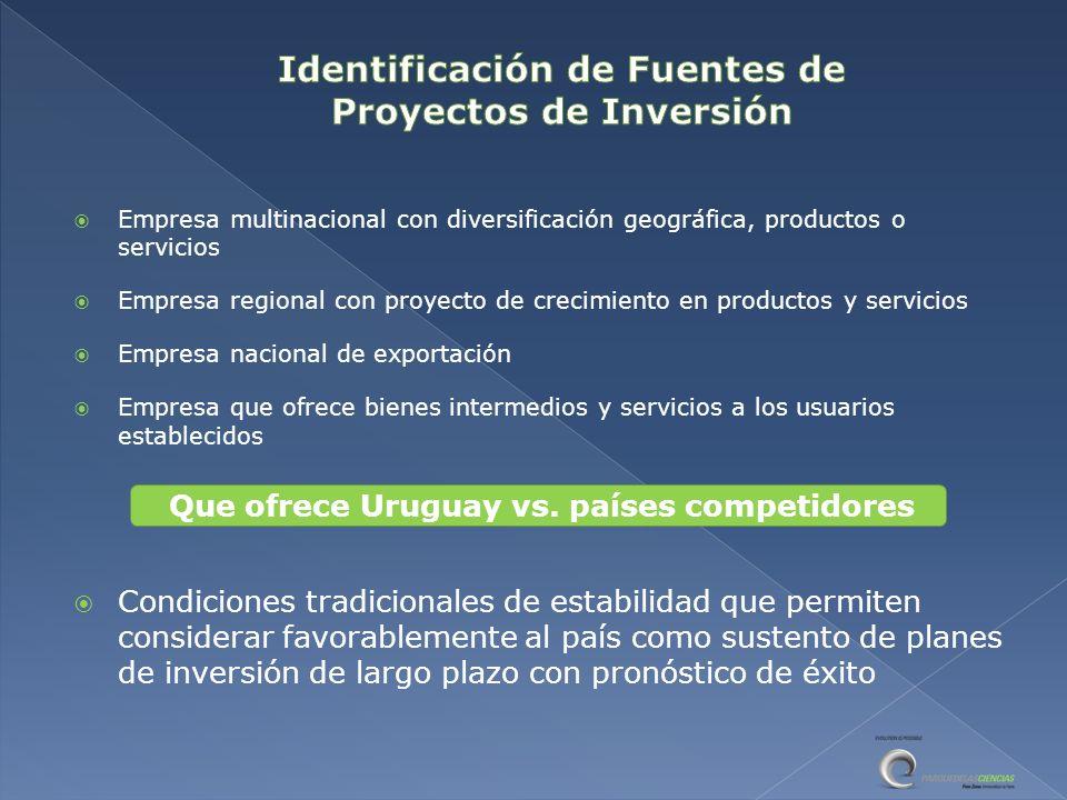 Identificación de Fuentes de Proyectos de Inversión