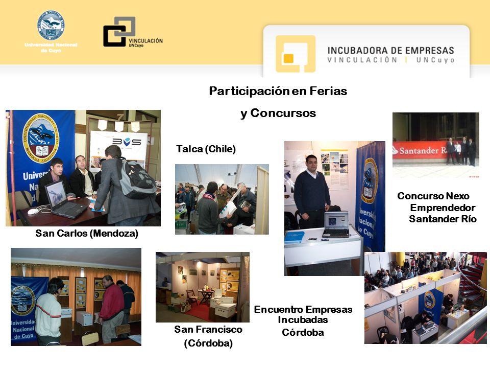 Participación en Ferias y Concursos