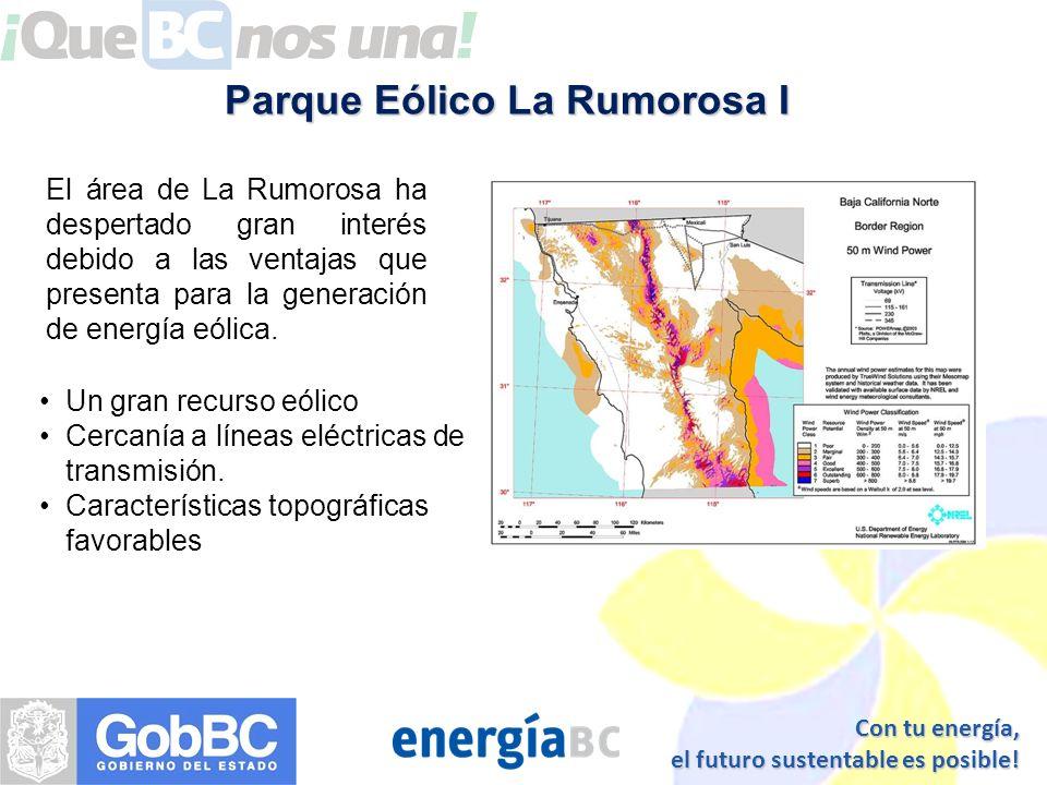 Parque Eólico La Rumorosa I