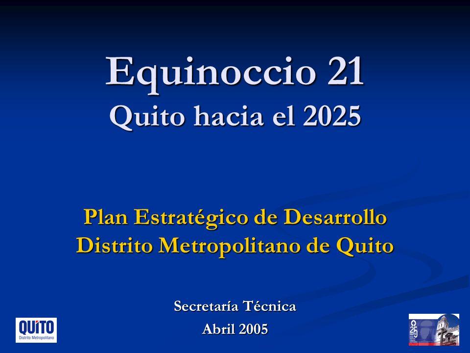 Equinoccio 21 Quito hacia el 2025
