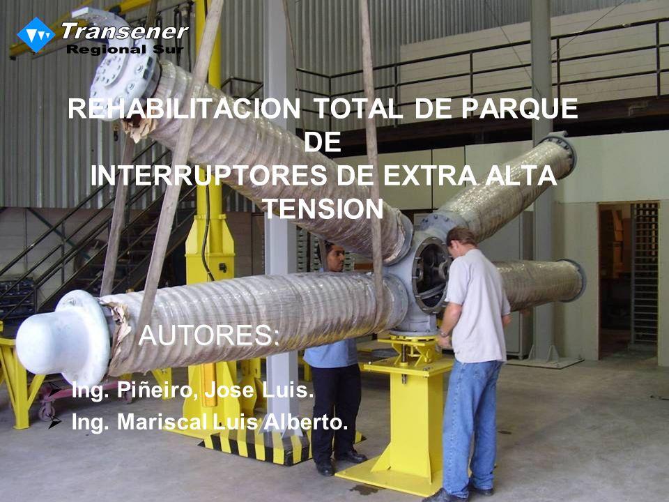 REHABILITACION TOTAL DE PARQUE DE INTERRUPTORES DE EXTRA ALTA TENSION