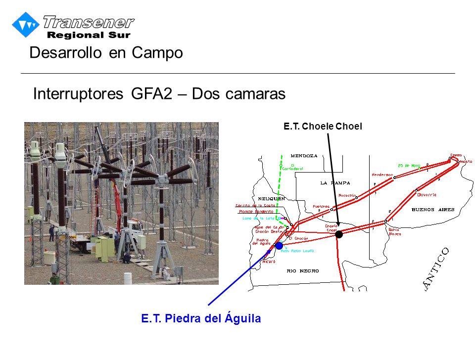 Interruptores GFA2 – Dos camaras