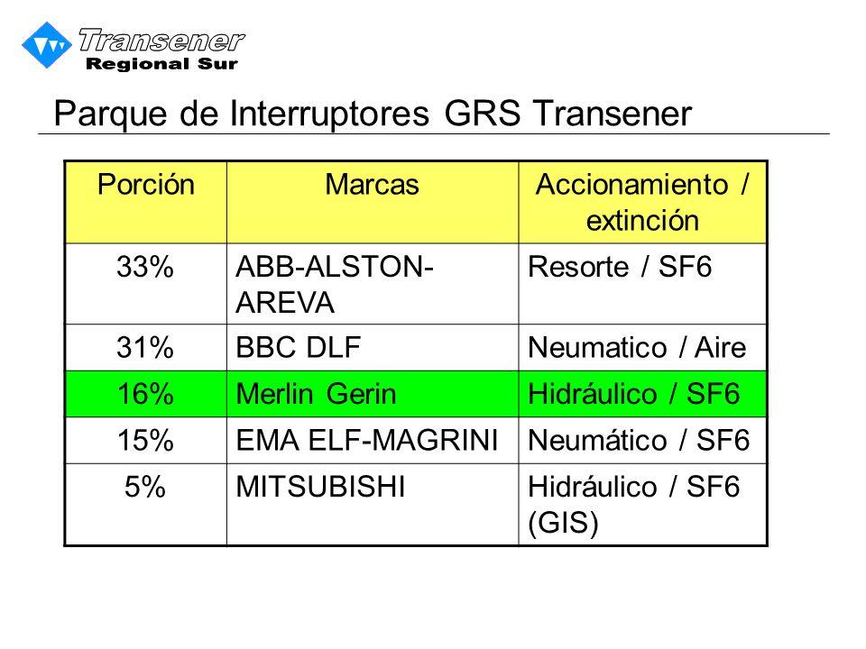Parque de Interruptores GRS Transener