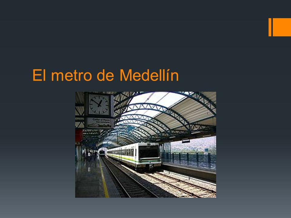 El metro de Medellín