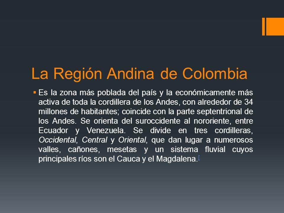 La Región Andina de Colombia