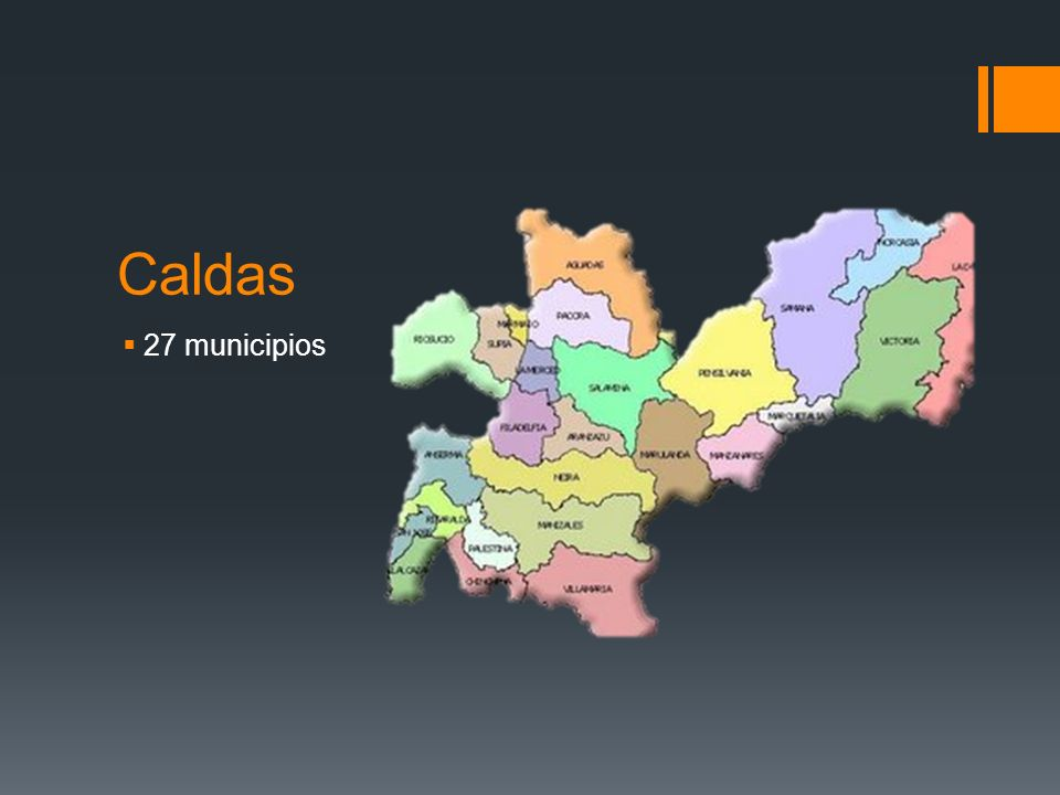 Caldas 27 municipios