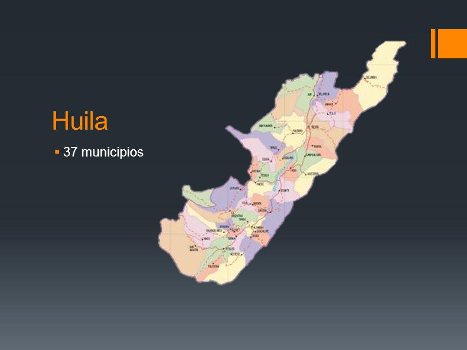 Huila 37 municipios