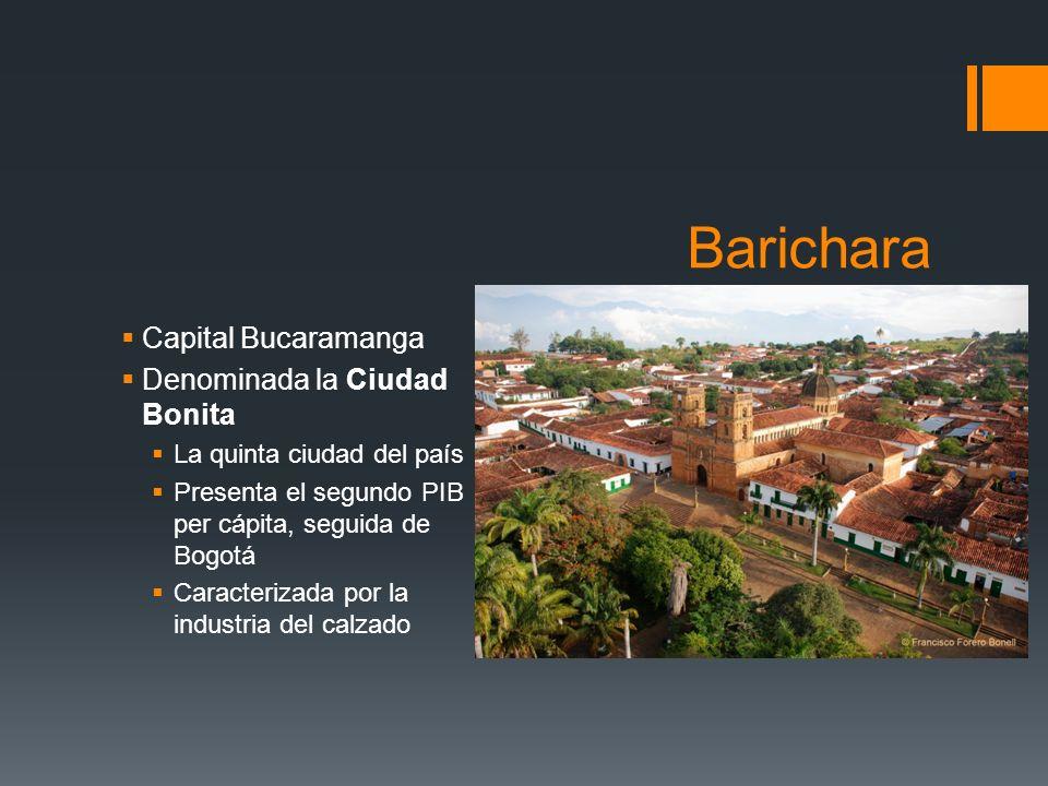 Barichara Capital Bucaramanga Denominada la Ciudad Bonita