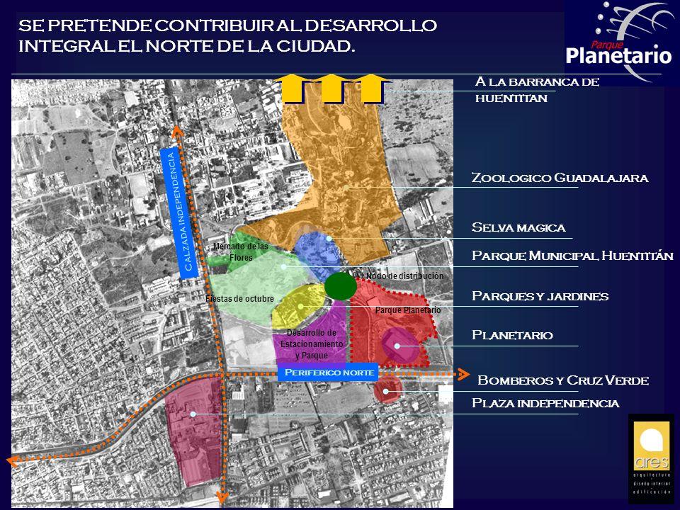 Desarrollo de Estacionamiento y Parque